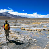 Trekking in the Atacama desert