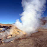 Fumaroles at El Tatio