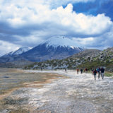 Trekking round the Parinacota