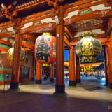 The Senso-Ji temple complex