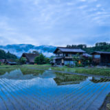 Traditional houses in Shirakawa