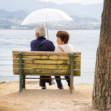 Old couple at Miyajima island