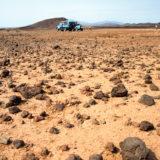 Volcanic rocks on the road to Lake Tukana