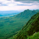 Looking down on the Great Rift Valley