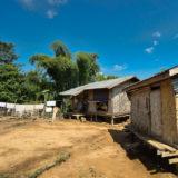 Little village at Mekong