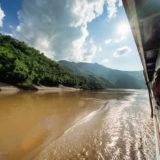 Sailing the Mekong in Laos