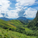 Karst mountains in the jungle