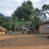 Arrival at Khmung village