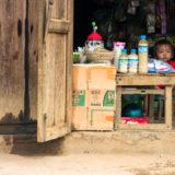 Kid in little shop