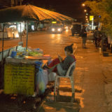 Market stall in Vang Vieng