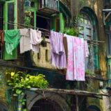 Laundry in Yangon