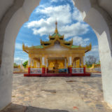 Temple at the Kuthodaw Pagoda