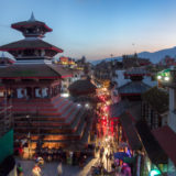 Durbar Square at night