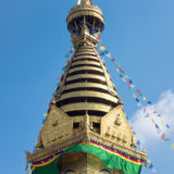 Swayambhu pagoda in Kathmandu