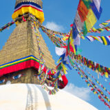 Boudanath pagoda in Kathmandu