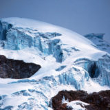 Detail of glacier