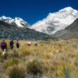 Walking in the Cordillera Blanca