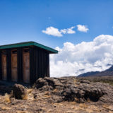 Toilet cabins