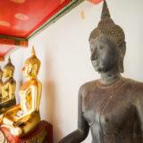 Bronze Budda statue
