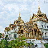 Royal palace in Wat Pharakaew