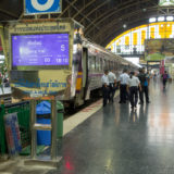 The railway station of Bangkok, to Chiang Mai