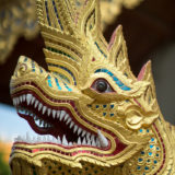 Detail of dragon statue