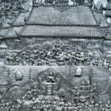 Detail of the Wat Sri Suphan temple