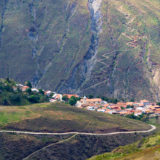 Little village in the Venezuelan Andes