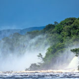Waterfalls at Laguna de Canaima