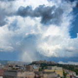 Thunderclouds above the Acropolis